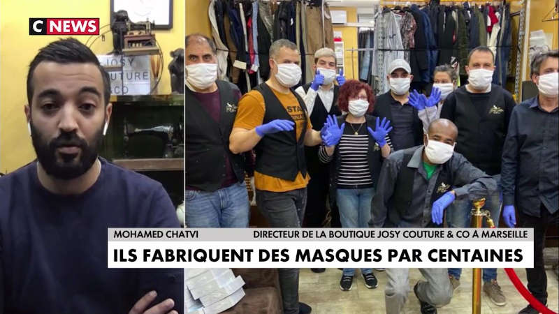 journal CNews, reportage sur Josy Couture